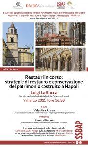 Conferenza_Restauri in corso