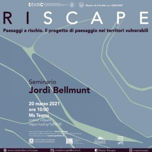 (Italiano) Seminario Jordi Bellmunt – 20 Marzo 2021 – ore 10.00